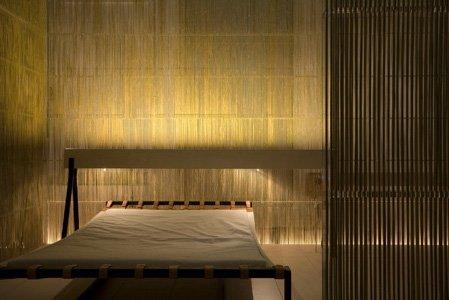 бамбуковые панели в японском минимализме