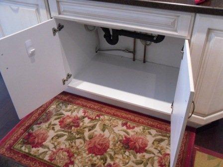тумба на кухне под раковину