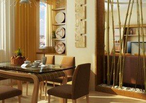 бамбук - материал для отделки