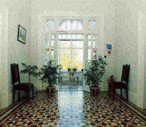 полированная плитка в мозайке