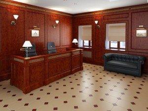 отделка кабинета
