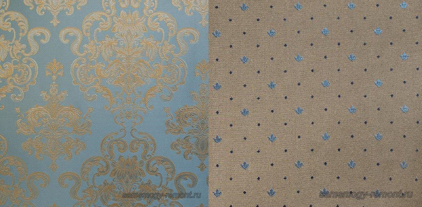 Великолепные текстильные обои для спальни