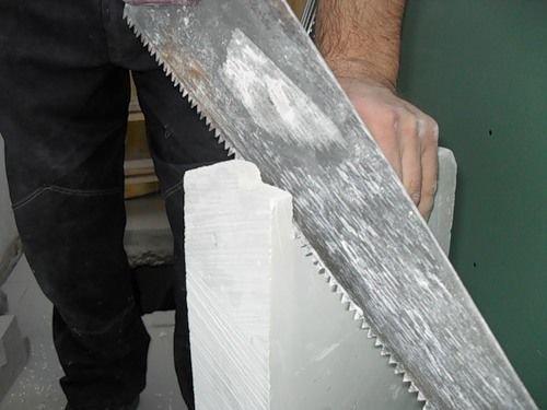 обработка материала для стен