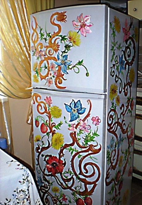 роспись в украинском стиле