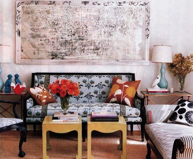интерьер квартиры в стиле винтаж