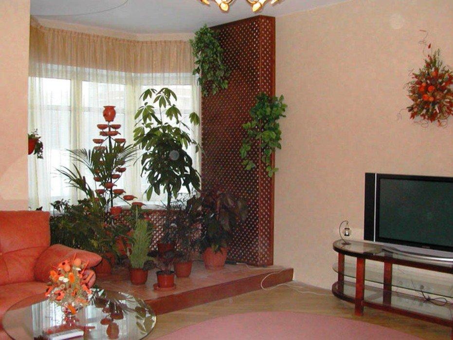 зимний сад в эркере квартиры