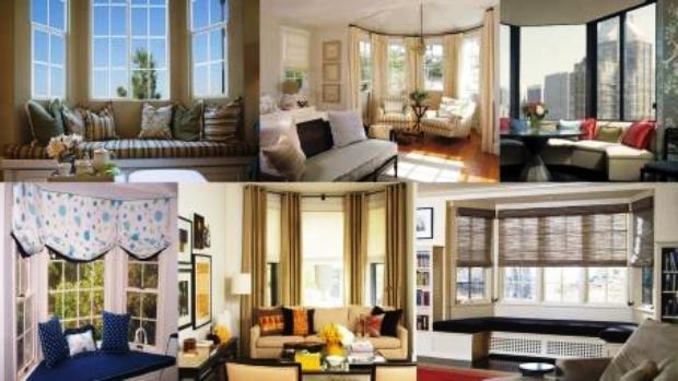 эркер в интерьере современной квартиры