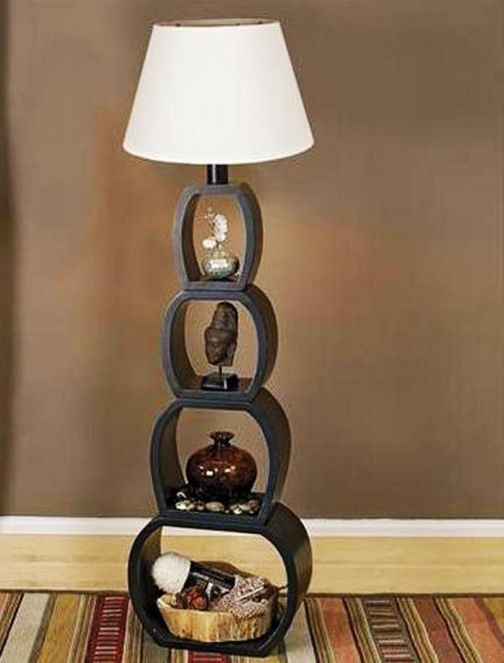 декоративная ножка напольного светильника