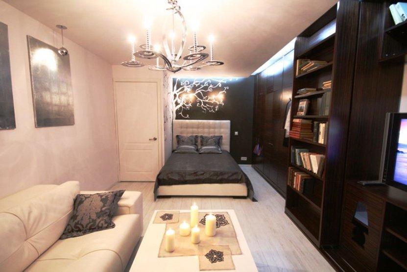 цвет стен в спальне и гостиной