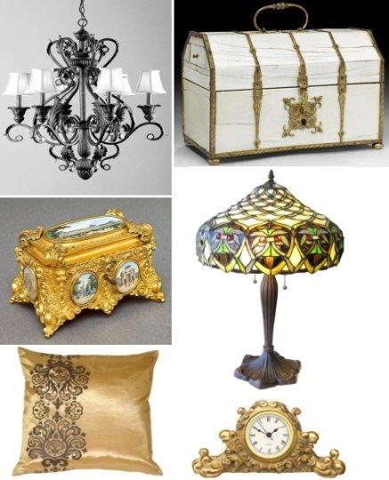 элементы декора свойственные стилю барокко