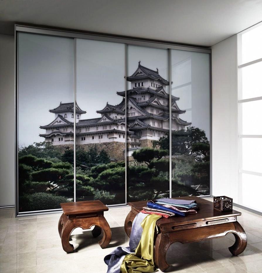 современный интерьер с элементами китайского оформления