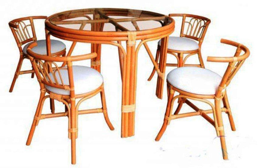 кухонная мебель из ротанга