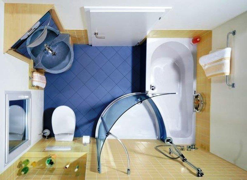 дизайн ванных комнат совмещенных с туалетом 4 кв.м с душевой кабиной фото
