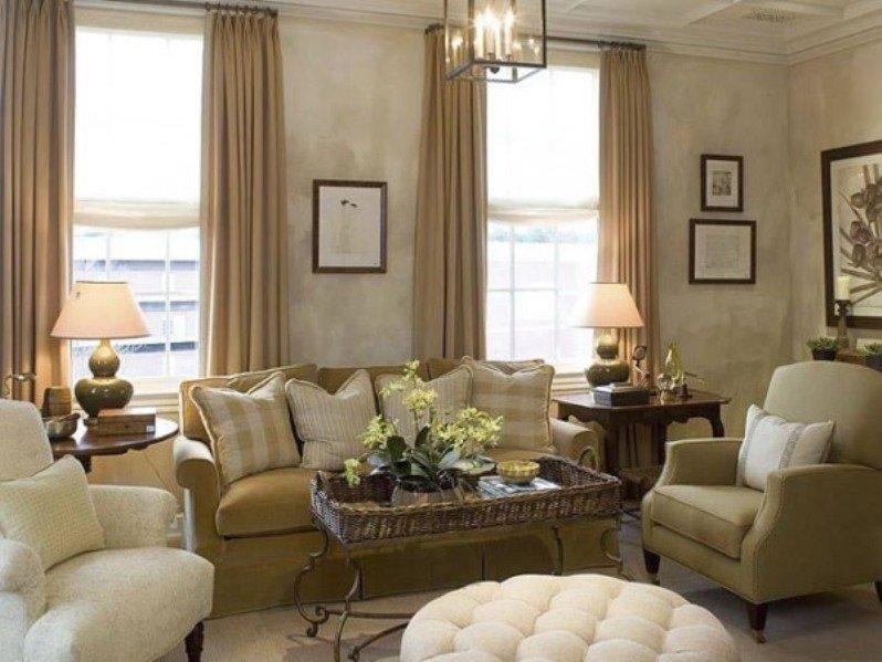 плетеная мебель в гостинной