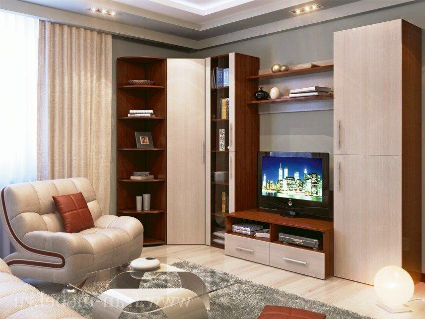 Стенка для гостиной - современные решения и дизайн.
