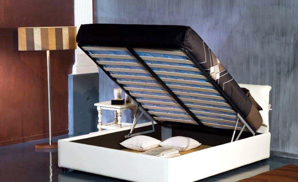 подъёмная кровать - большое вместилище для хранения вещей