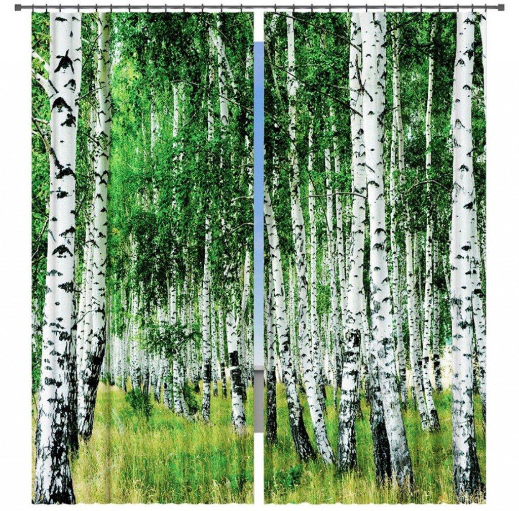 фотошторы с изображением природы