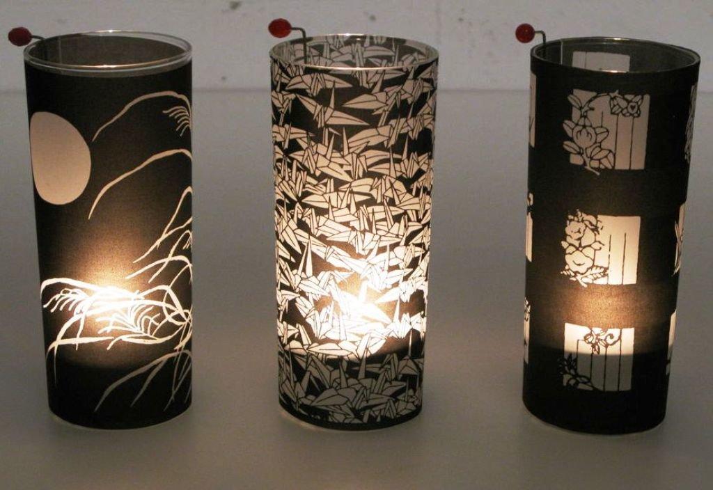 декоративные светильники со свечами