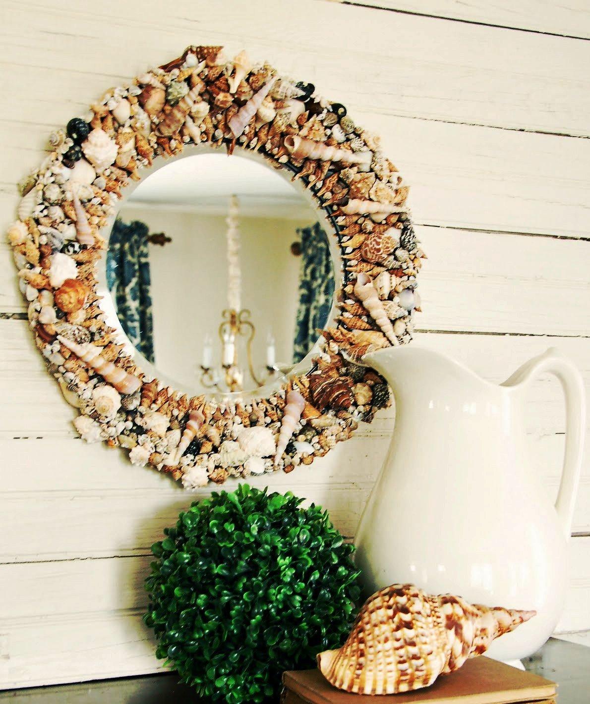 зеркало в интерьере в стиле пованс