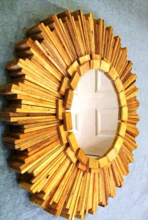 зеркало декорированное своими руками