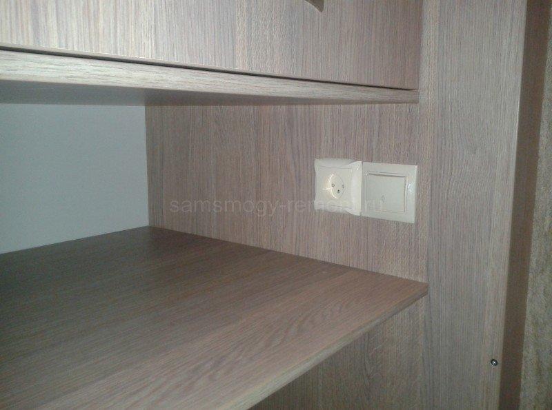 электрика в шкафу