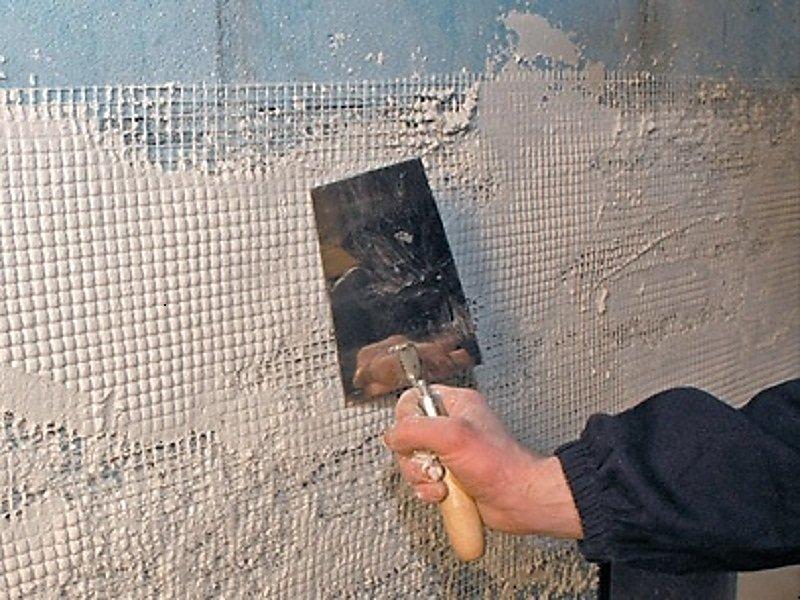 ремонт трещин на стенах