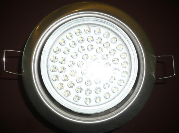 точечный светильник со светодиодной лампой