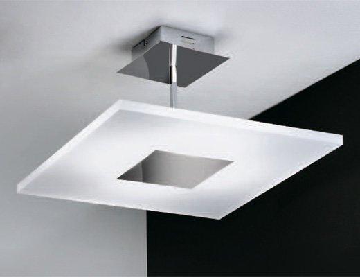 светодиодный светильник с матовым стеклом