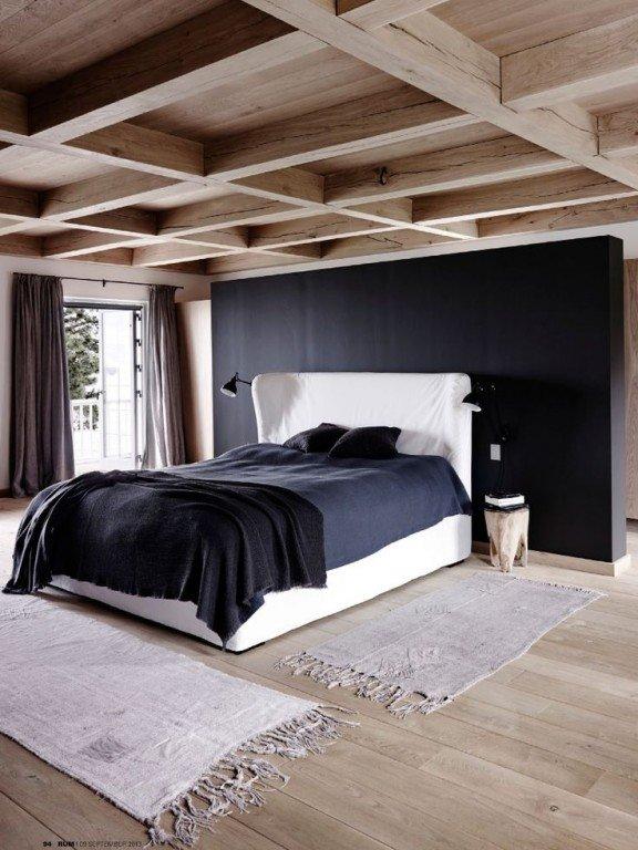 Неудачное решение с деревянным потолком