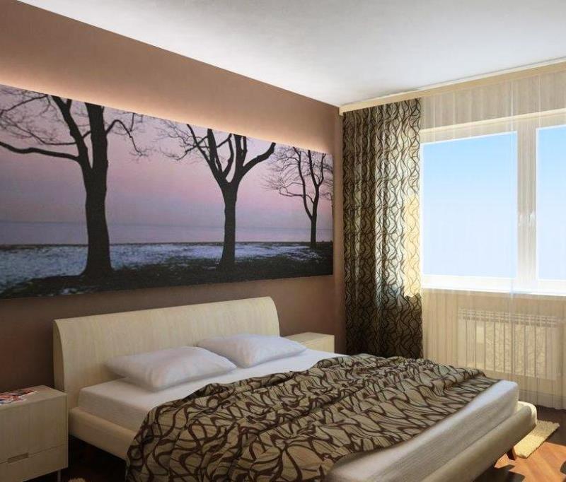 Дизайн маленькой спальни: ТОП-50 фото идей для