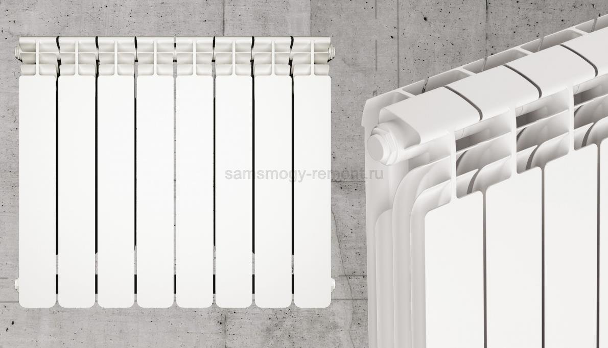 Алюминиевый литой радиатор (Италия)