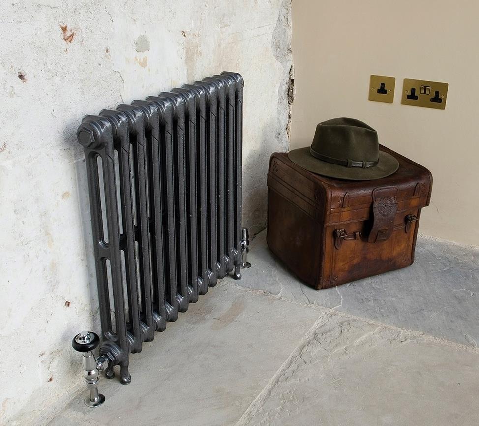 Чугунный радиатор в викторианском стиле