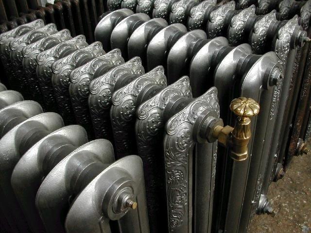 Импортные чугунные радиаторы