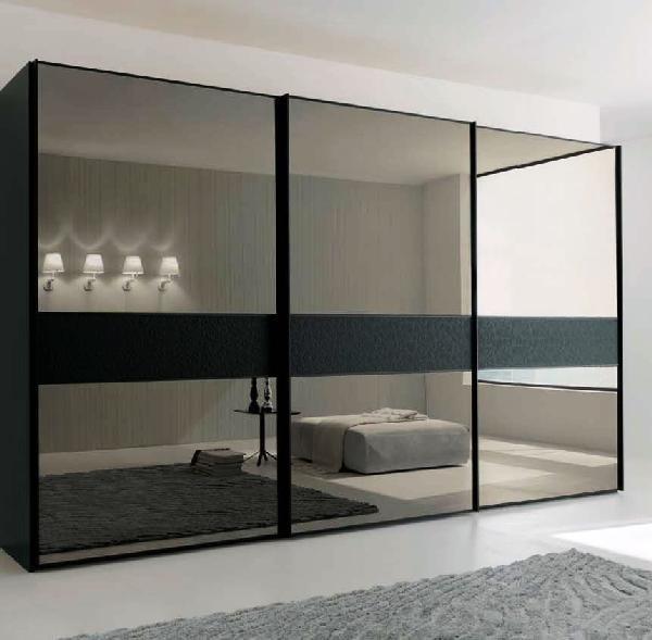 стекло и зеркало в минимализме
