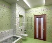 двери в туалет и ванную комнату