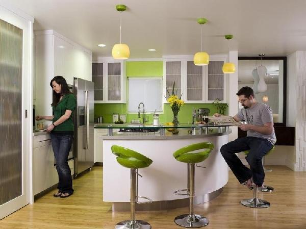 хорошая вентиляция для кухни-гостиной