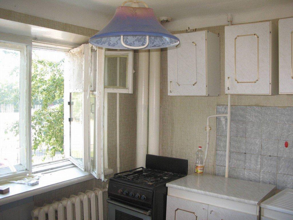 кухня в новой квартире
