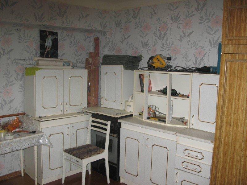 кухня переехала в комнату
