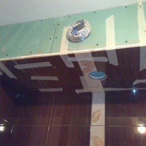 плитка на короб в ванной