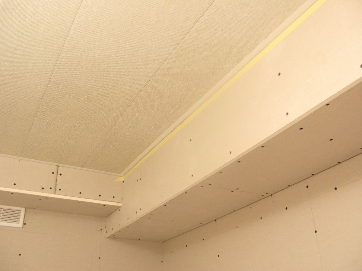 потолок на кухне своими руками