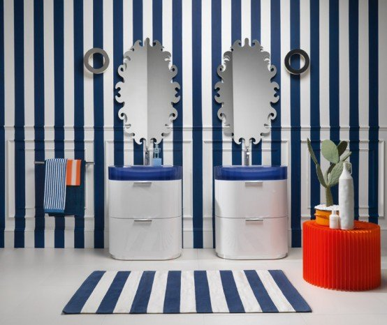 разнообразные формы зеркал
