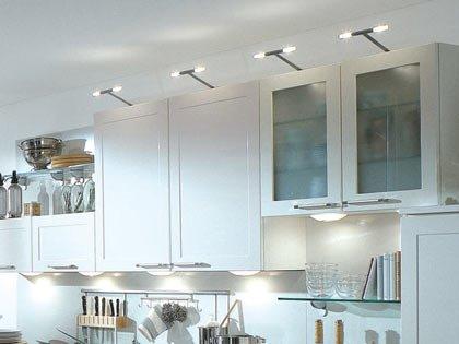 искусственный свет на кухне