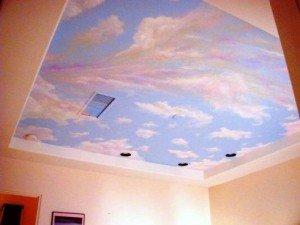 потолок подчеркивающий сказочную тематику
