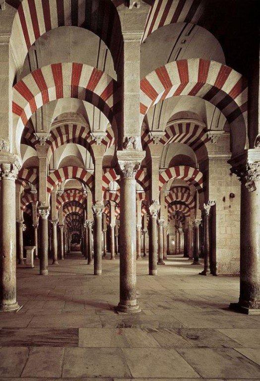 Арочные анфилады египетских дворцов