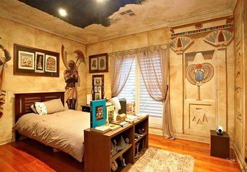 Звездное небо в египетской спальне