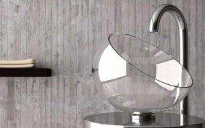 дизайн раковины для маленькой ванной