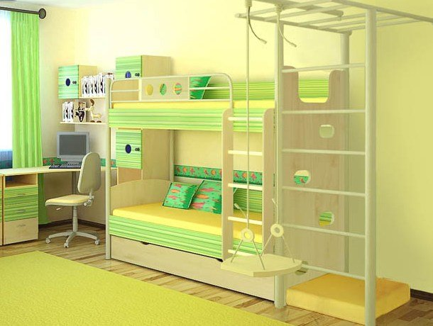Дизайн комнаты для игр