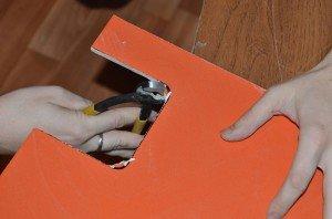 клещи для выламывания фрагментов плитки