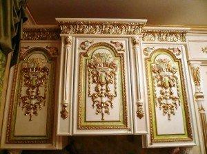 полиуретановые украшения мебели