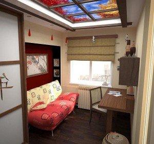 фальш-окна на потолках